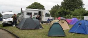 Madog's cosy campsite