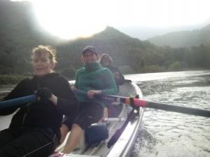 Bethan, Nicki and Elaine half way to Maentwrog