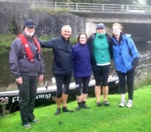 Dr John, Simon, Elaine, Nikki and Bethan