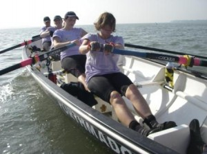 The purple ladies on their way to yet another victory