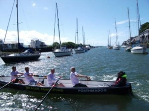 Senior SuperVets take to the water