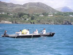 Mens - Porthmadog take the buoy