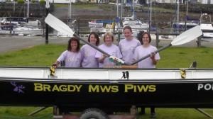 Winning ladies crew -castle to castle race 2011