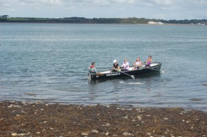 Ladies crew - Nikki, Steph, Heather and Pippa, coxed by Steve