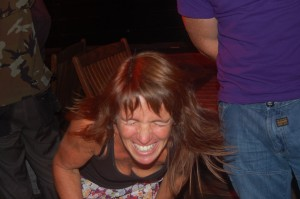 Heather gets the joke!