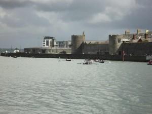 Caernarfon castle a great backdrop for the regatta