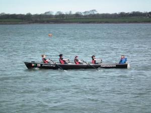 Caernarfon ladies vets winners