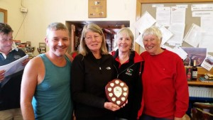 Port league Ladies Super Vets winners